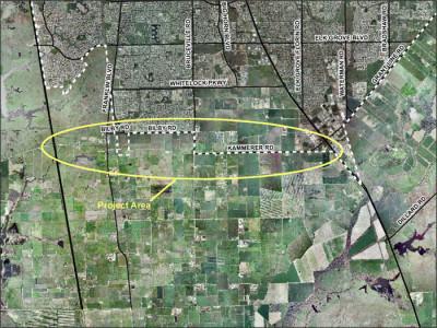 2016 04 April 07 Kammerer Road project-area-map2