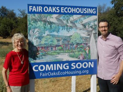 2016 07 25 ECOS endorses Fair Oaks EcoHousing photo