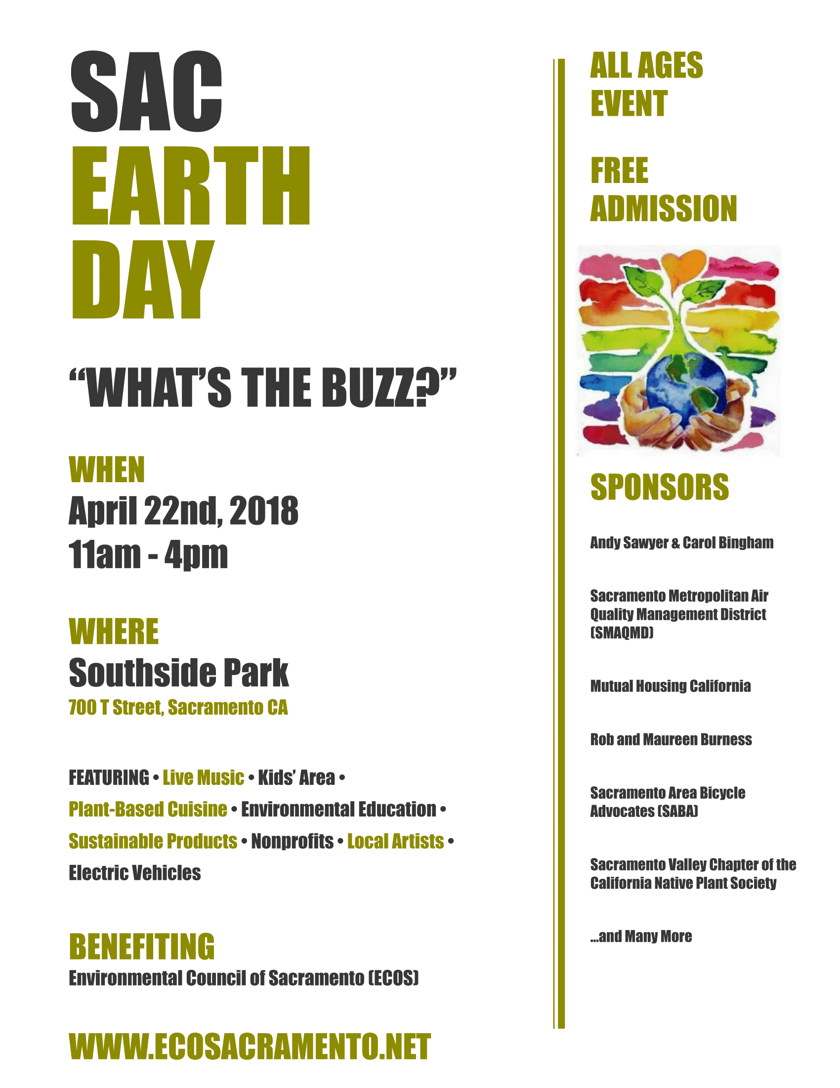 Sacramento Earth Day | ECOS